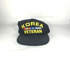 Korea Veteran SnapBack Eagle Crest USA Military Hat Headwear Official