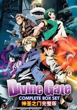 DVD ANIME Divine Gate Vol.1-12 End English Subs All Region + FREE DVD