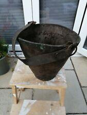 More details for antique, c1800 vintage leather bucket, good condition