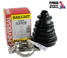 BAILCAST Universal CV Boot Kit Drive Shaft Easy Fit with Clips and Grease