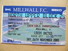 M Surname Initial Football Tickets & Stubs