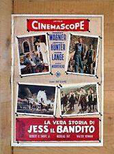 LA VERA STORIA DI JESS IL BANDITO fotobusta poster Robert Wagner Hunter G34