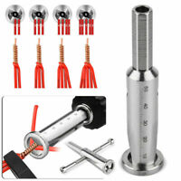 Universal Electrical Cable Twist Quick Connector Wire Stripper For Drill Bit
