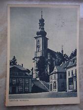 Ab 1945 Frankierte Ansichtskarten aus den ehemaligen deutschen Gebieten für Architektur/Bauwerk