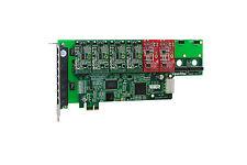 OpenVox A800E42 8 Port Analog PCI-E Base card + 4 FXS + 2 FXO, Ethernet (RJ45)