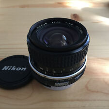 Nikon Ai Nikkor 24mm f/2.8 Wide Angle Manual Focus Lens