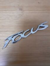 Ford Focus Emblem letters Badge Ford Chrome effect High quality Free P And P