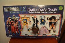 Dragon Ball Z Figures Lot Collector's Pack Nappa/Raditz/Roshi/Garlic BRAND NEW