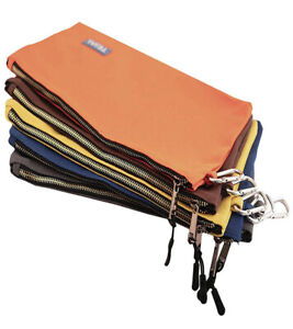 Portable Canvas Zipper Storage Tool Bag Small Parts Pouch Hand Tool Organize Bag