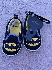 Batman Crib Shoes Size 6-9 Months