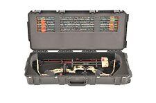 SKB Black Parallel Bow Mathews Creed XS case 3i-3614-PL & 2 TSA locking latches.