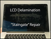 "MACBOOK PRO RETINA A1398 15"" MID 2014 SCREEN LCD DELAMINATION ANTIGLARE REPAIR"