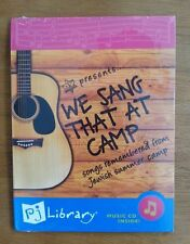 We Sang That At Camp - Songs Remembered from Jewish Summer Camp CD, New, OyBaby