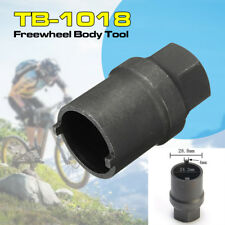 TB-1018 Freewheel Body Hub Cassette Remover Tool Black for Shimano Bicycle Bike