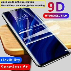 Clear Soft Hydrogel Film Screen Protector For Google Pixel 4 4A 4XL 5 5G