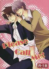 *Beelzebub YAOI Doujinshi ( Furuichi x Oga ) Please Call Me! SFL