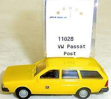 VW Passat Variant POSTA giallo IMU/EUROMODELL 11028 H0 1/87 conf. orig. #HO 1 â