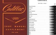 Cadillac 1958 - Cadillac Shop Manual Supplement for 1958 - Model 58-62, 60S, 75