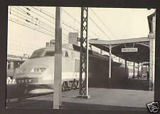 PORT-de-PILES (37) TGV en GARE , Ligne TOURS-POITIERS