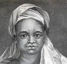 FEMME INDIGENE DE L'ISLE DE SAINTE CHRISTINE Gravure Voyage de COOK 1778