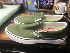 Vans Classic Slip-On Winter Moss/True White Size US 10 Men's VN0A38F7OW2