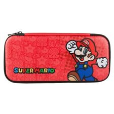 PowerA Stealth Case for Nintendo Switch Super Mario Leather Carry Travel Pack
