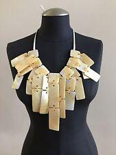 MONIES Fringe Shell Necklace