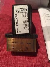 Burkert 6013 Solenoid Valve 2/2 Way