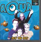 CD SINGLE 2 TITRES--AQUA--MY OH MY / DOCTOR JONES--1998
