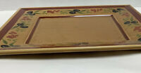 """Williams-Sonoma, Square Olive & Berries Patterned Platter - 12 1/2"""" x 12 1/2"""""""