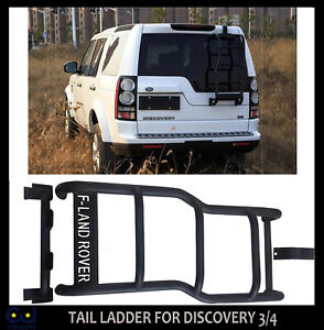 LAND ROVER REAR DOOR ROOF RACK ACCESS LADDER FOR DISCOVERY 3 AND 4 TAILGATE 4X4