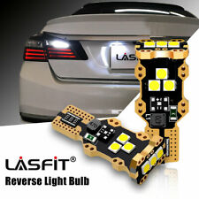 921 912 T15 LED Backup Reverse Light Bulb Canbus Error Free 6000K Xenon White 2x
