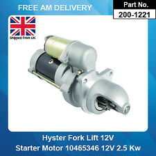 Starter Motor For Hyster Forklift 10465346 10465348 10465420 10479613