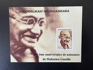 Madagascar 2019 / 2020 Mohandas Mahatma Gandhi India 150 years RARE DeLuxe Proof
