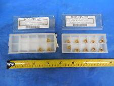 13pcs New Everede Tool Tpgb 215 Cv6 Carbide Inserts Tpgb215 Cv 6 TiN Coated Cnc