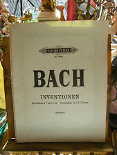 Partition Bach Inventionen Invention Music Sheet