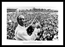 Geoff Boycott 100th Hundred Headingley 1977 Cricket Photo Memorabilia (393)