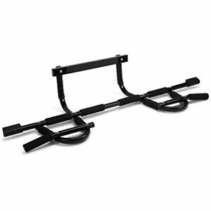 Yes4All Deluxe Chin Up Bar Doorway - Solid 1 Piece Construction Pull Up Bar O...