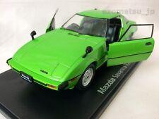 Mazda RX-7 SA22C [1978] SAVANNA 1:24 Diecast Scale Model Car Green Limited