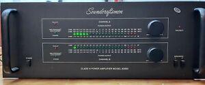 SOUNDCRAFTSMEN A5002 STEREO 2 CHANNEL CLASS H POWER AMPLIFIER RARE!