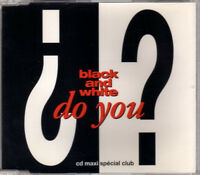 CD MAXI SINGLE SPECIAL CLUB BLACK & WHITE DO YOU KNOW TRES RARE COMME NEUF 1994