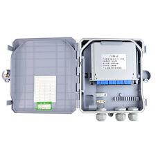 Hard Waterproof Outdoor PLC Splitter 1*8 SC/UPC Fiber optic terminal box Screws