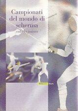 """Folder filatelico 56 - """" Campionati del mondo di Scherma """" 2003"""