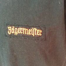 Jagermeister T Shirt Size XL Embroidered Logo V Neck Ships Free