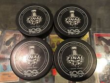 2017 STANLEY CUP FINALS GAME 2 3 4 5 PITTSBURGH PENGUINS OFFICIAL 4 PUCK LOT