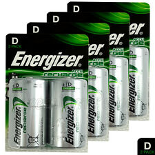 8 x Energizer Rechargeable D Size batteries Recharge Power NiMH 2500mAh LR20