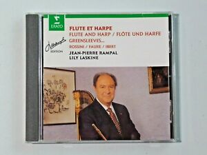 Flute and Harp Jean-Pierre Rampal, Lily Laskine Rampal Edition Music CD BMG