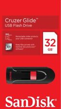 32GB SanDisk Cruzer Glide USB 2.0 Flash Memory Drive USB Pen Flash Stick Drive