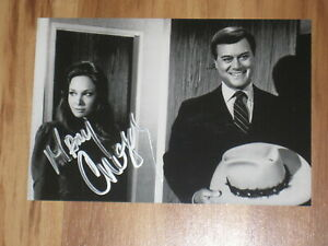 MARY CROSBY Signed 4x6 DALLAS Photo AUTOGRAPH
