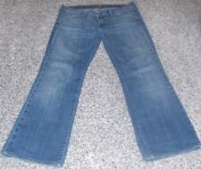 7 all man kind medium wash flare jeans Sz 31